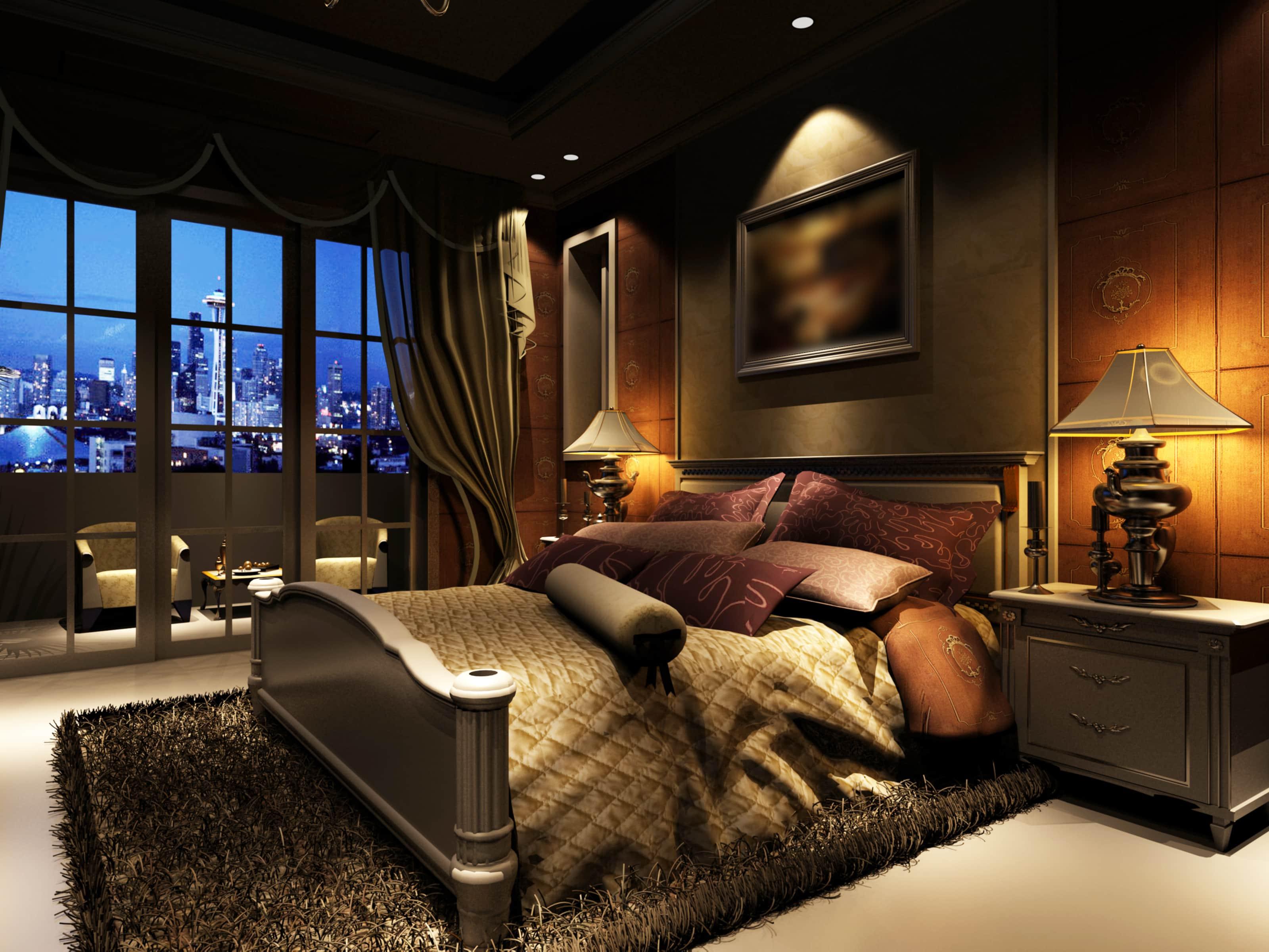 Hotelbett Suite